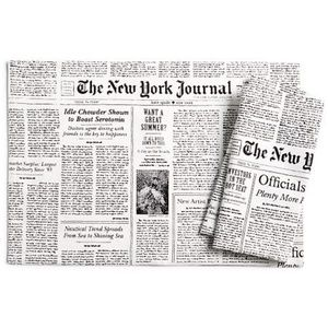Kate Spade set of 4 newspaper napkins
